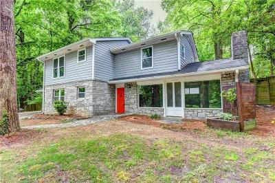 Single Family Home For Sale: 2162 Brookview Drive NW