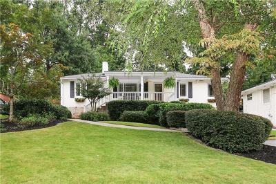 Single Family Home For Sale: 1246 Citadel Drive NE