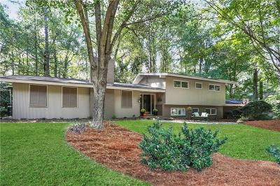 Sandy Springs Single Family Home For Sale: 7280 Hunters Branch Drive