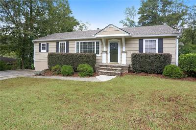 Brookhaven Single Family Home For Sale: 2926 Skyland Drive NE