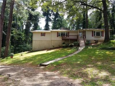 Austell Single Family Home For Sale: 163 Hillcrest Drive SW