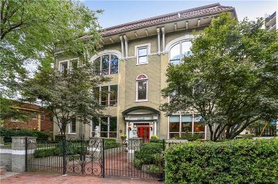 Atlanta Condo/Townhouse For Sale: 1116 Piedmont Avenue NE #3