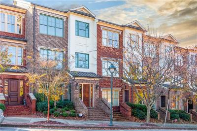 Sandy Springs Condo/Townhouse For Sale: 6075 City Walk Lane