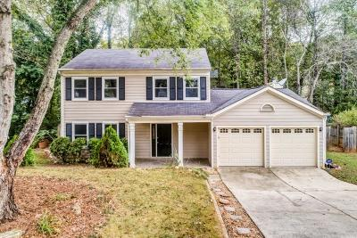 Acworth Single Family Home For Sale: 4617 Hickory Run Court NW