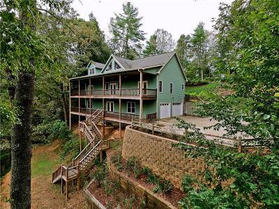 Ellijay Single Family Home For Sale: 755 Pocaset Drive