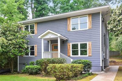Decatur Single Family Home For Sale: 339 Madison Avenue