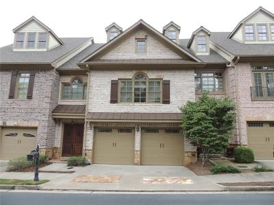 Johns Creek Condo/Townhouse For Sale: 6277 Clapham Lane