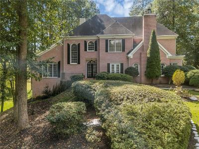 Alpharetta Single Family Home For Sale: 14735 Glencreek Way