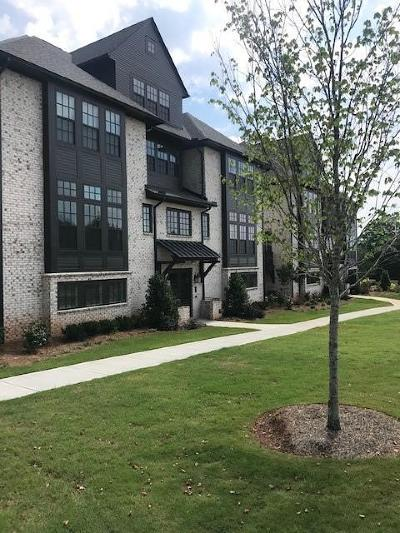 Alpharetta, Dunwoody, Johns Creek, Milton, Roswell, Sandy Springs Condo/Townhouse For Sale: 214 Britten Pass #78