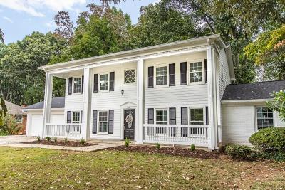 Sandy Springs Single Family Home For Sale: 5551 Benton Woods Drive