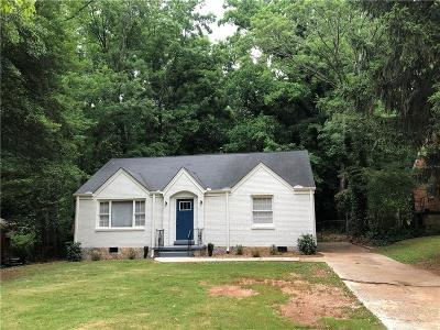 Decatur Single Family Home For Sale: 1856 Glendale Drive
