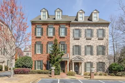Alpharetta GA Condo/Townhouse For Sale: $514,000