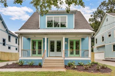Atlanta Single Family Home For Sale: 217 S Howard Street SE