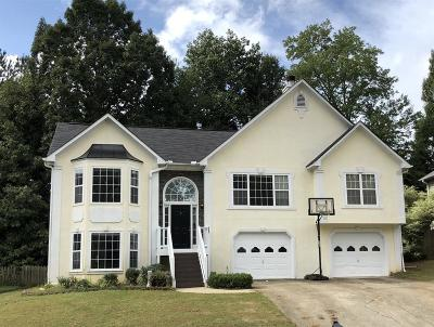 Acworth Single Family Home For Sale: 4921 Baker Plantation Way