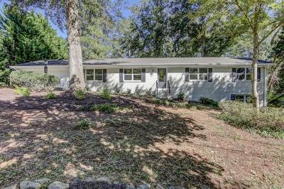 Marietta Single Family Home For Sale: 2109 Allgood Road