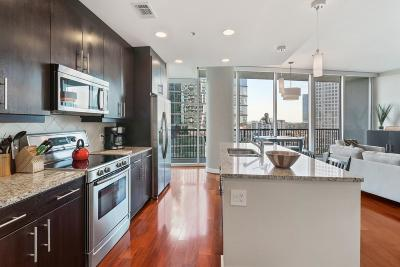 Condo/Townhouse For Sale: 1080 Peachtree Street #1009