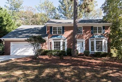 Roswell Single Family Home For Sale: 465 Spring Ridge Trace