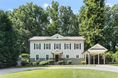 Brookhaven Single Family Home For Sale: 2254 Drew Valley Road NE