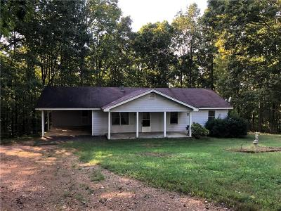 Dawsonville Single Family Home For Sale: 7265 Anderson Lake Rd Road