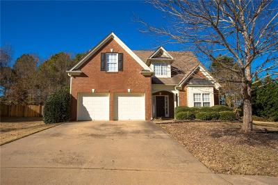 Dacula Single Family Home For Sale: 2540 Legend Mill Run