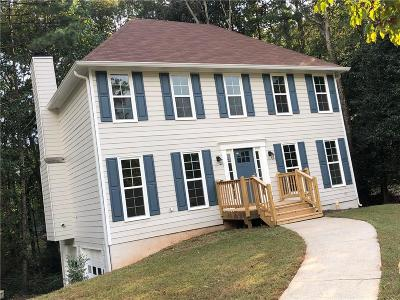 Marietta Single Family Home For Sale: 2028 Arbor Forest Drive