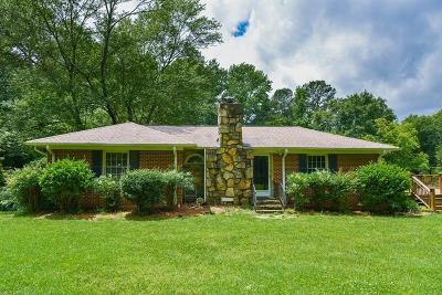 Marietta Single Family Home For Sale: 1435 Holly Springs Road NE