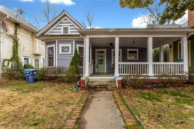 Atlanta Single Family Home For Sale: 363 Woodward Avenue SE