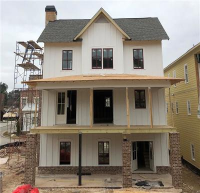 Atlanta Single Family Home For Sale: 1907 Kings Cross NW