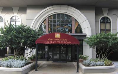 Atlanta Condo/Townhouse For Sale: 3334 NE Peachtree Road NE #201