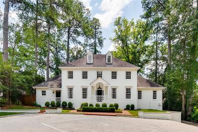 Atlanta Single Family Home For Sale: 482 Peachtree Battle Avenue NW