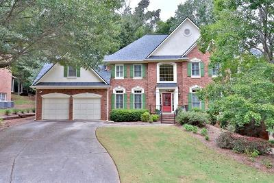 Roswell Single Family Home For Sale: 3955 Inverness Crossing