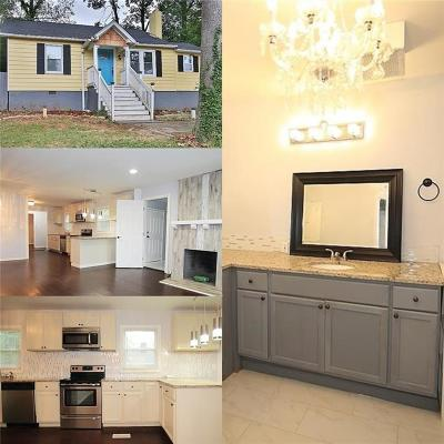 Decatur Single Family Home For Sale: 3492 Glenwood Road