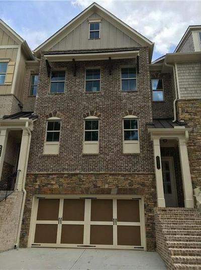Atlanta Condo/Townhouse For Sale: 3129 Lawrenceburg Lane SE