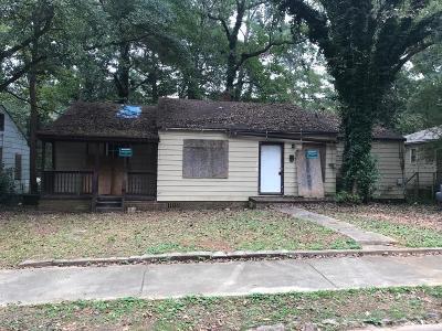 Atlanta Single Family Home For Sale: 1384 Epworth Street SW