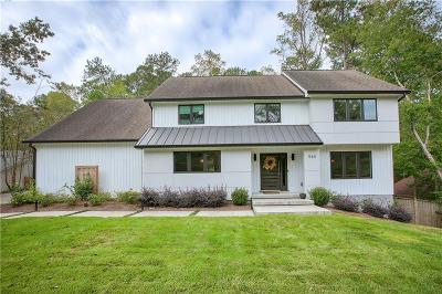 Sandy Springs Single Family Home For Sale: 960 Ivy Falls Drive