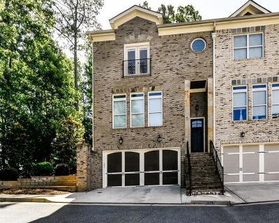 Atlanta Condo/Townhouse For Sale: 476 Pearl Cove Court