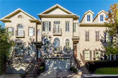 Atlanta Condo/Townhouse For Sale: 3060 Stone Gate Drive