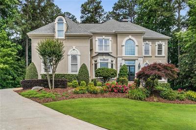 Alpharetta Single Family Home For Sale: 1045 Bay Pointe Crossing
