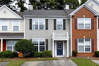 Kennesaw Condo/Townhouse For Sale: 1761 Stanwood Drive NW
