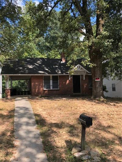 Atlanta Single Family Home For Sale: 2451 Main Street