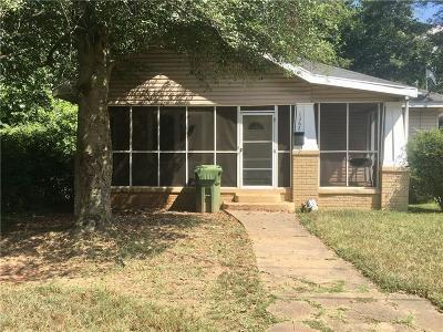 Atlanta Single Family Home For Sale: 1362 Belmont Avenue SW