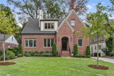 Atlanta GA Single Family Home For Sale: $1,589,000