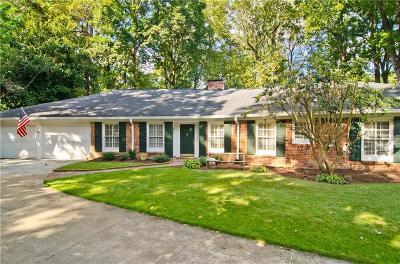 Atlanta Single Family Home For Sale: 1025 Coronado Drive NW
