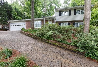 Sandy Springs Single Family Home For Sale: 905 Starlight Drive