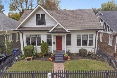 Virginia Highland Single Family Home For Sale: 1132 Saint Louis Place NE