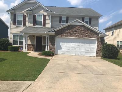 Fairburn Single Family Home For Sale: 280 Misty Walk