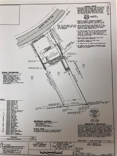 Atlanta Residential Lots & Land For Sale: 731 Wildwood Place NE