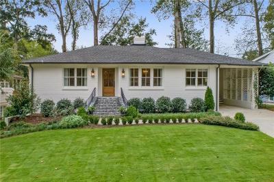 Atlanta Single Family Home For Sale: 377 Meadowbrook Drive NE