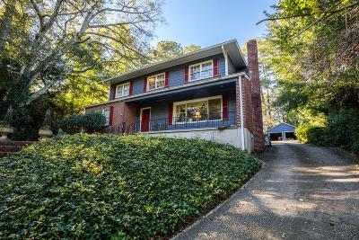 Druid Hills Single Family Home For Sale: 922 Lullwater Road NE