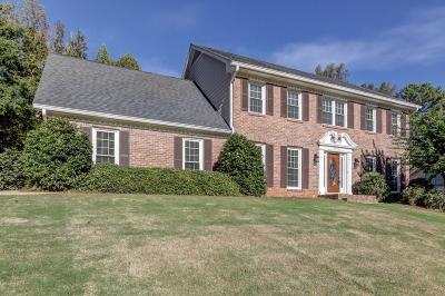 Dunwoody Single Family Home For Sale: 5482 Mount Vernon Way